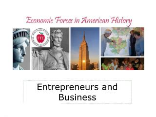 Entrepreneurs and Business
