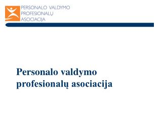 Personalo valdymo profesionalų asociacija
