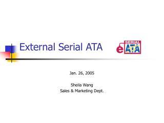 External Serial ATA