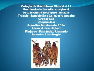 Colegio de Bachilleres Plantel # 11 Seminario de la cultura regional