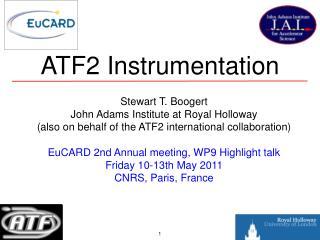ATF2 Instrumentation