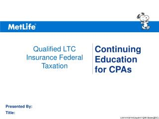 Continuing  Education  for CPAs