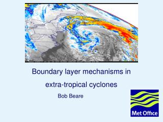 Boundary layer mechanisms in  extra-tropical cyclones