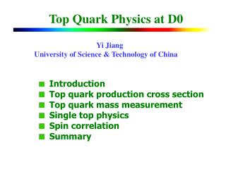 Top Quark Physics at D0