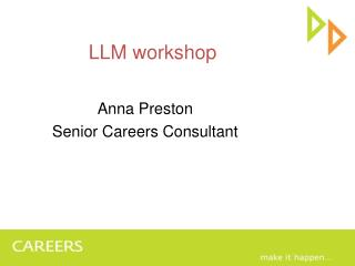LLM workshop