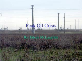Peak Oil Crisis