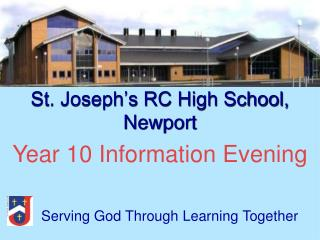 St. Joseph's RC High School, Newport