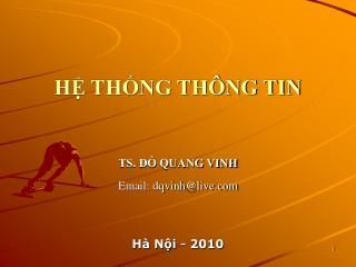 H? TH?NG TH�NG TIN