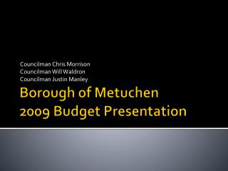 Borough of Metuchen