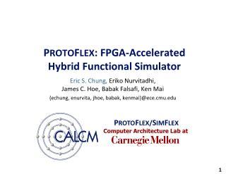 P ROTO F LEX : FPGA-Accelerated  Hybrid Functional Simulator