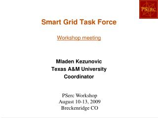 Smart Grid Task Force Workshop meeting