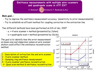 Emittance measurements with multiple wire-scanners  and quadrupole scans in ATF EXT