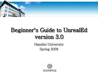 Beginner ' s Guide to UnrealEd version 3.0