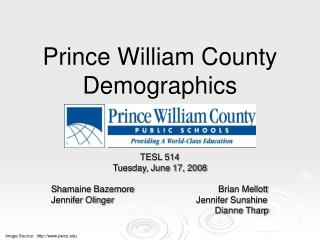 Prince William County Demographics