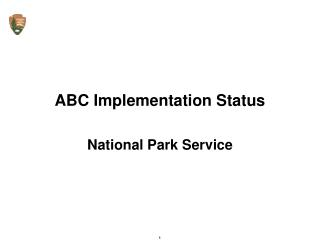 ABC Implementation Status