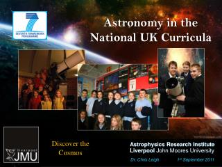 Astronomy in the National UK Curricula