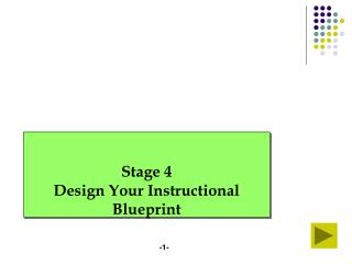 Stage 4 Design Your Instructional Blueprint