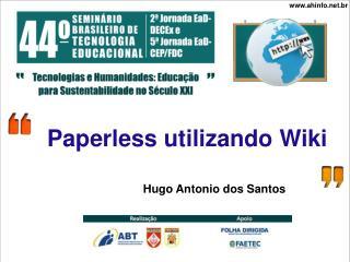 Paperless utilizando Wiki
