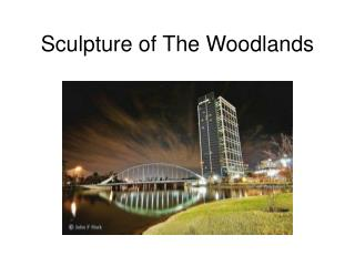 Sculpture of The Woodlands