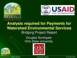 Douglas Southgate Ohio State University