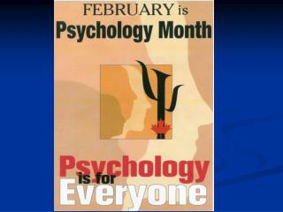 Careers in CLINICAL PSYCHOLOGY