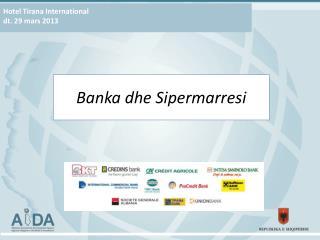 Hotel Tirana International dt. 29 mars 2013