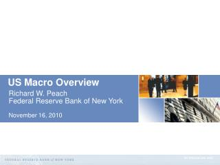 US Macro Overview