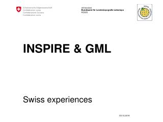 INSPIRE & GML