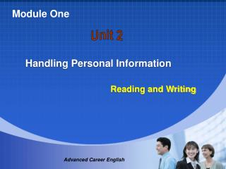 Handling Personal Information