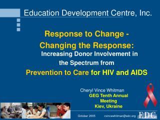Education Development Centre, Inc.