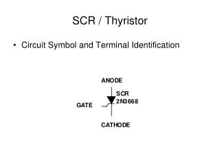 SCR / Thyristor