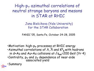 High-p T  azimuthal correlations of neutral strange baryons and mesons   in STAR at RHIC
