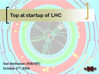 Top at startup of LHC