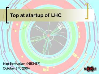 Top at startup of LHC