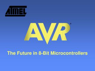 The Future in 8-Bit Microcontrollers
