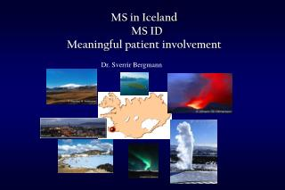 MS in Iceland   MS ID Meaningful patient involvement