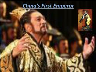 China's First Emperor