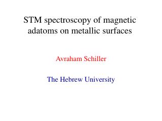 STM spectroscopy of magnetic adatoms on metallic surfaces