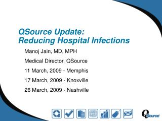 QSource  Update:  Reducing Hospital Infections