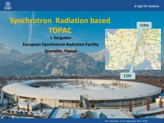 Synchrotron  Radiation based  TDPAC