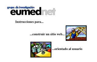 ...construir un sitio web...