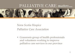Nova Scotia Hospice  Palliative Care Association