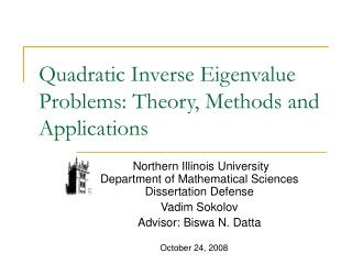 Quadratic Inverse Eigenvalue Problems: Theory, Methods and Applications