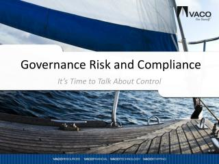 Governance Risk and Compliance