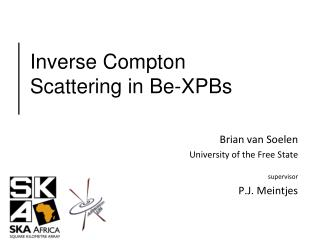 Inverse Compton Scattering in Be-XPBs