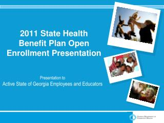 2011 State Health Benefit Plan Open Enrollment Presentation