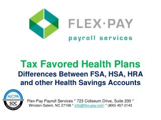 Why offer a tax favored health plan?