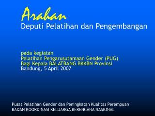 Pusat Pelatihan Gender dan Peningkatan Kualitas Perempuan