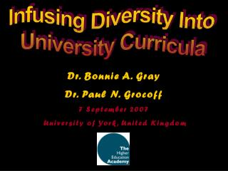 Infusing Diversity Into University Curricula