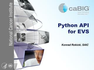 Python API  for EVS